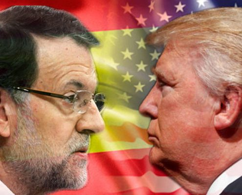 "DEL ""SÉ FUERTE"" DE RAJOY AL ""STAY STRONG"" DE TRUMP"