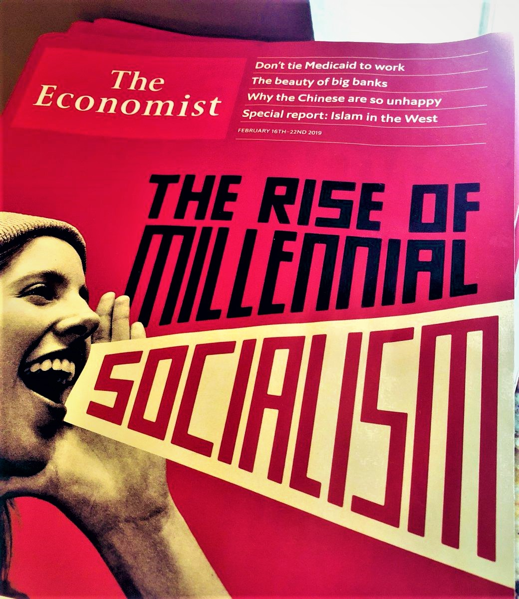 "THE ECONOMIST : ""THE RISE OF MILLENNIAL SOCIALISM"""
