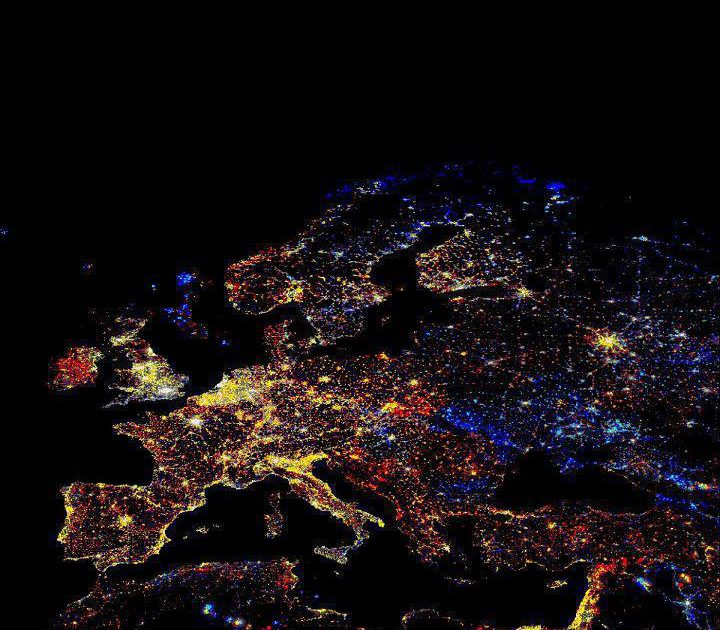 EUROPA: LUCES Y SOMBRAS