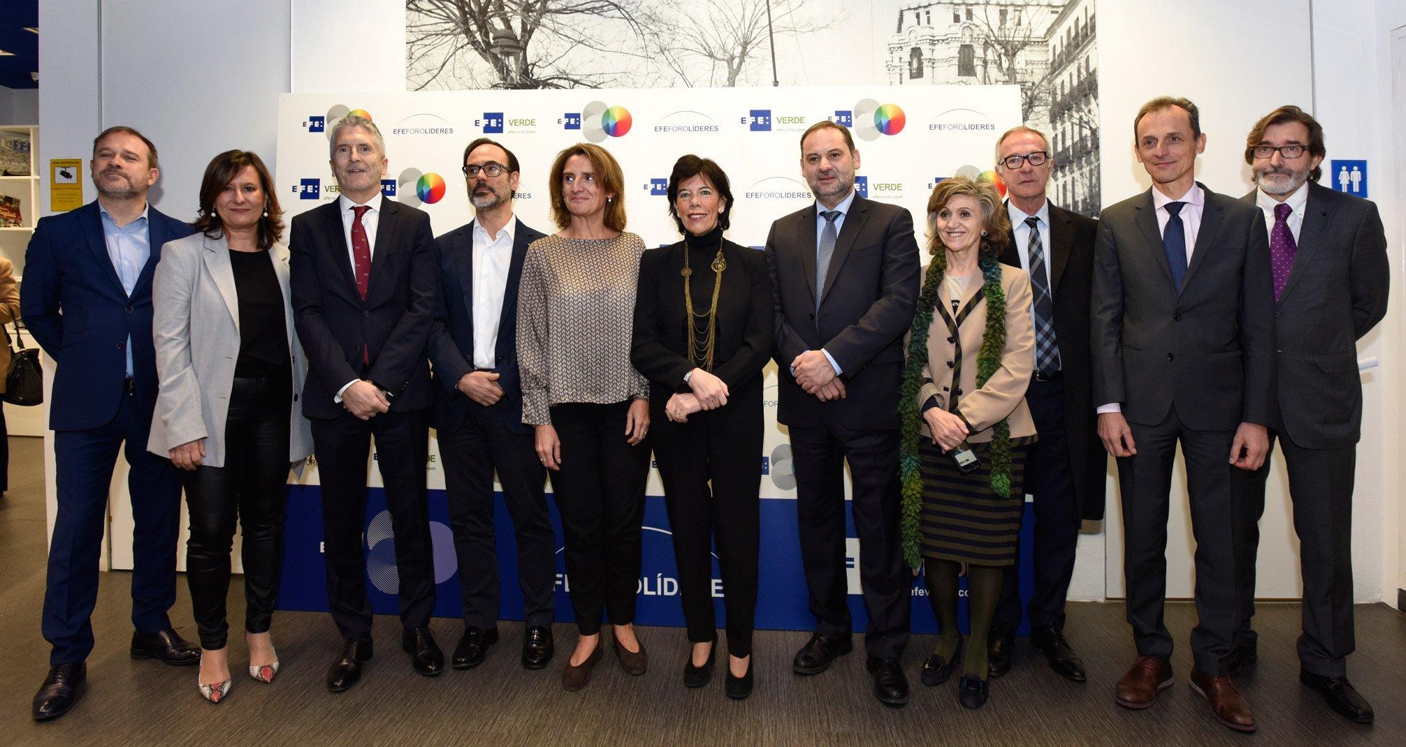 RIBERA AGRADECE LA PRESENCIA DE GRETA THUNBERG EN MADRID Y FIJA LA HOJA DE RUTA PARA LA NEUTRALIDAD CLIMÁTICA EN 2050