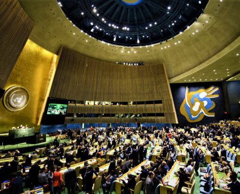 ASAMBLEA GENERAL DE LA ONU: AGENDA 2030 Y MULTILATERALISMO ANTI-TRUMP