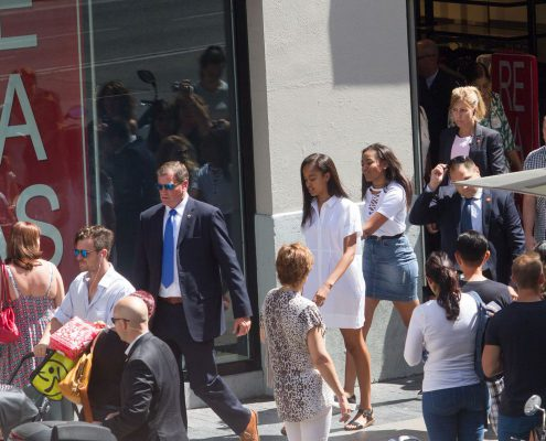 Malia Obama regresa a España